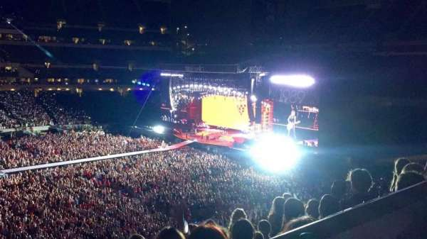 Lincoln Financial Field, section: C20, row: 6, seat: 7