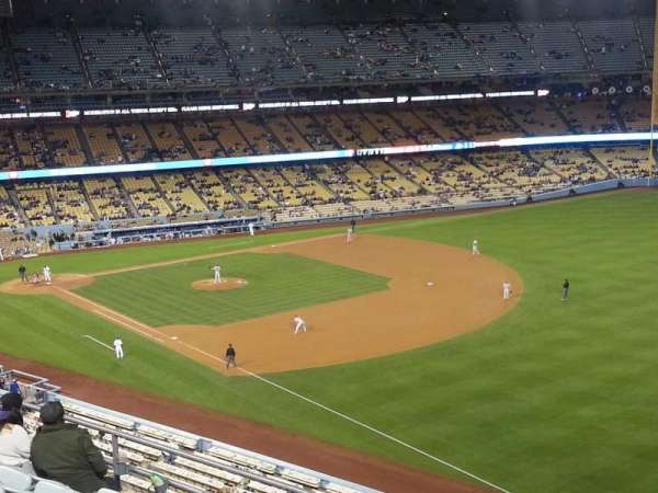 Dodger Stadium, section: 40RS, row: F, seat: 21