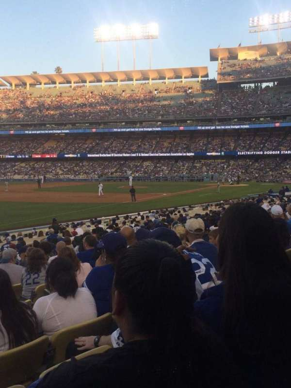 Dodger Stadium, section: 43FD, row: R, seat: 6