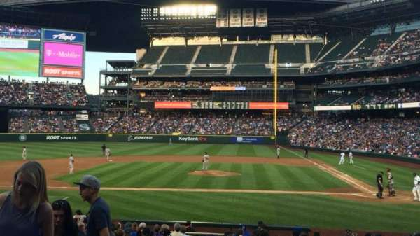 T-Mobile Park, section: 136, row: 22, seat: 10