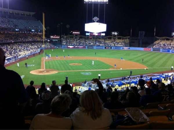 Dodger Stadium, section: 124LG, row: N, seat: 4