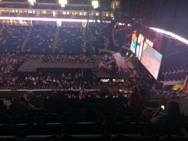 BOK Center, section: 314, row: N, seat: 7