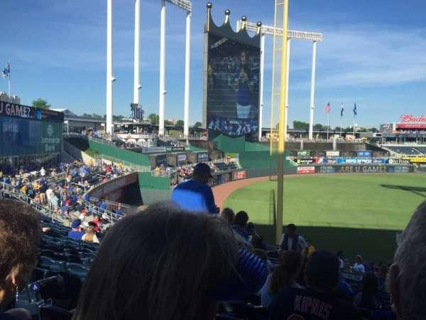 Kauffman Stadium, section: 209, row: RR, seat: 4