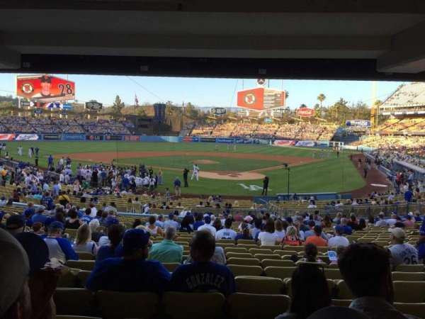 Dodger Stadium, section: 3FD, row: X, seat: 7