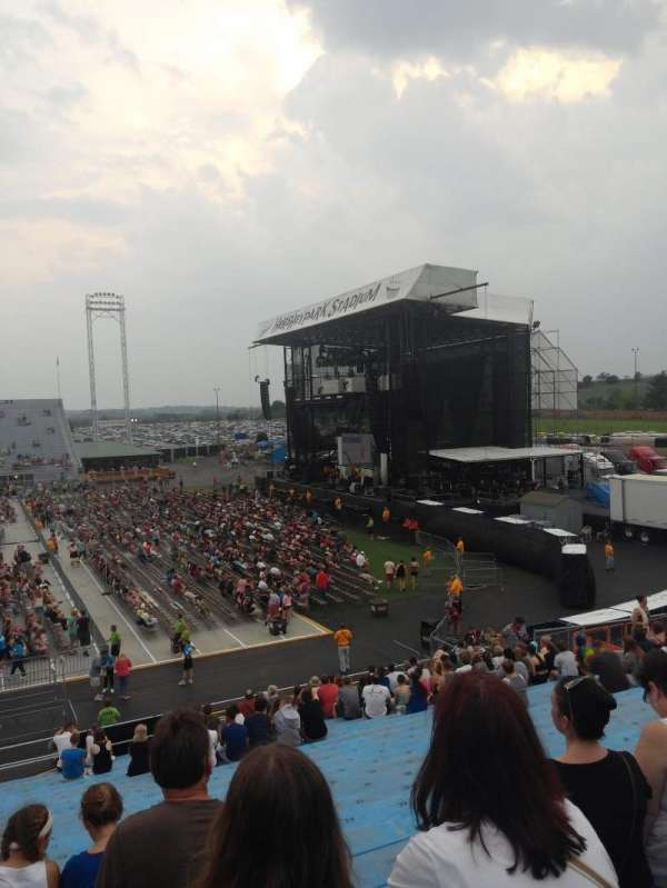 Hershey Park Stadium, section: 25, row: P, seat: 27