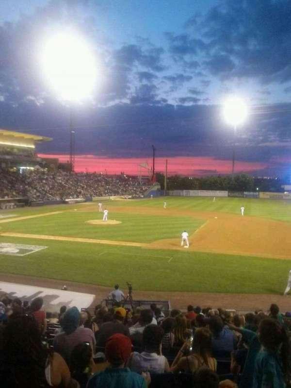 Richmond County Bank Ballpark, section: 13, row: T, seat: 8