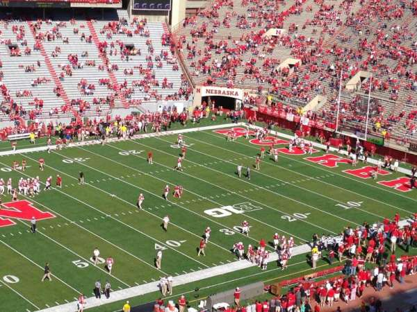Memorial Stadium (Lincoln), section: 410, row: 1