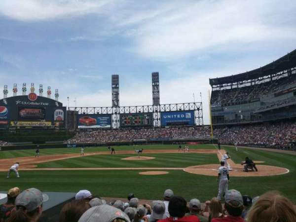 Guaranteed Rate Field, section: 136, row: 10, seat: 6
