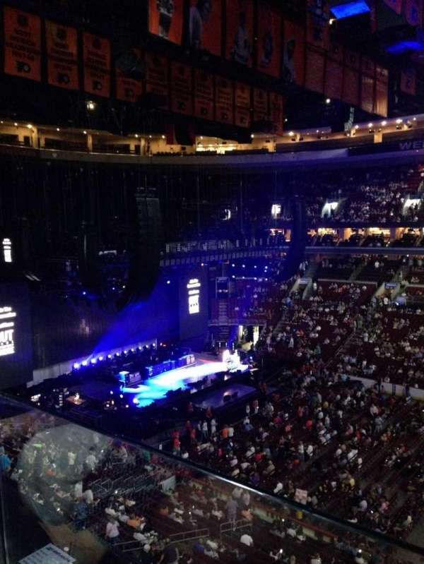 Wells Fargo Center, section: 202, row: 1, seat: 11
