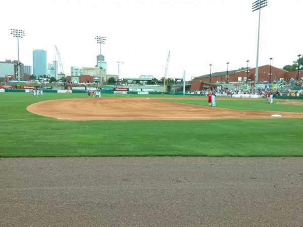 Dickey-Stephens Park, section: 115, row: 1, seat: 5