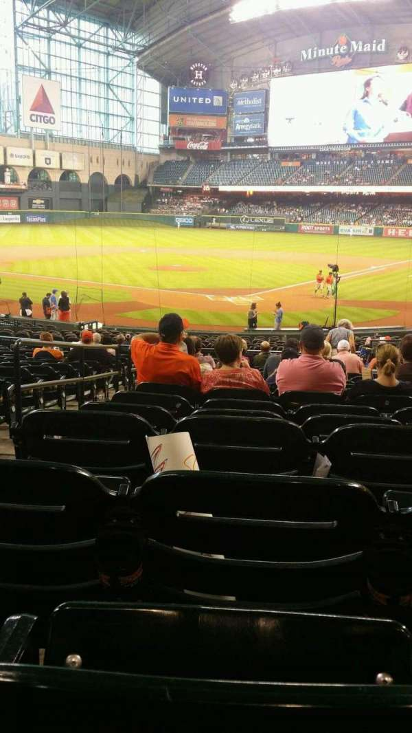 Minute Maid Park, section: 118, row: 30, seat: 17