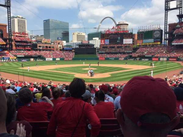 Busch Stadium, section: 150, row: 16, seat: 13
