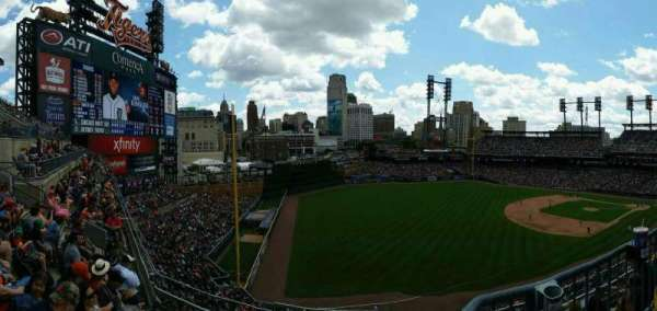 Comerica Park, section: 341, row: C, seat: 3