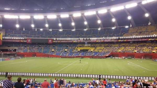 Olympic Stadium, Montreal, section: 128, row: L, seat: 11