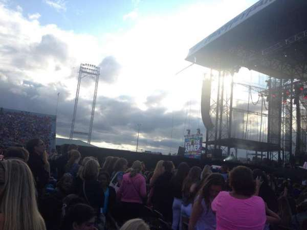 Hershey Park Stadium, section: A, row: 16, seat: 29