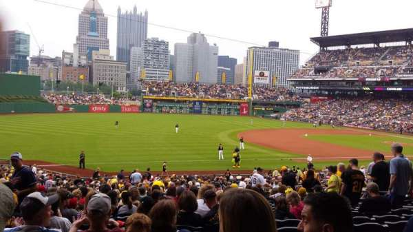 PNC Park, section: 128, row: Z, seat: 11