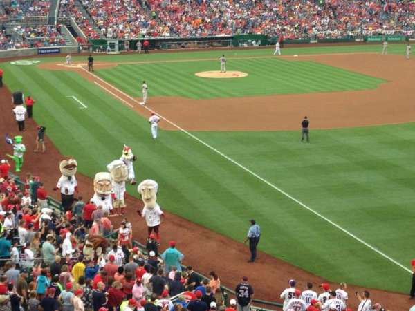 Nationals Park, section: 231, row: A, seat: 12