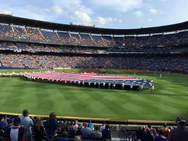 Turner Field, section: 146, row: 26, seat: 101