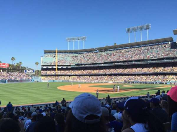 Dodger Stadium, section: 37fd, row: R, seat: 8