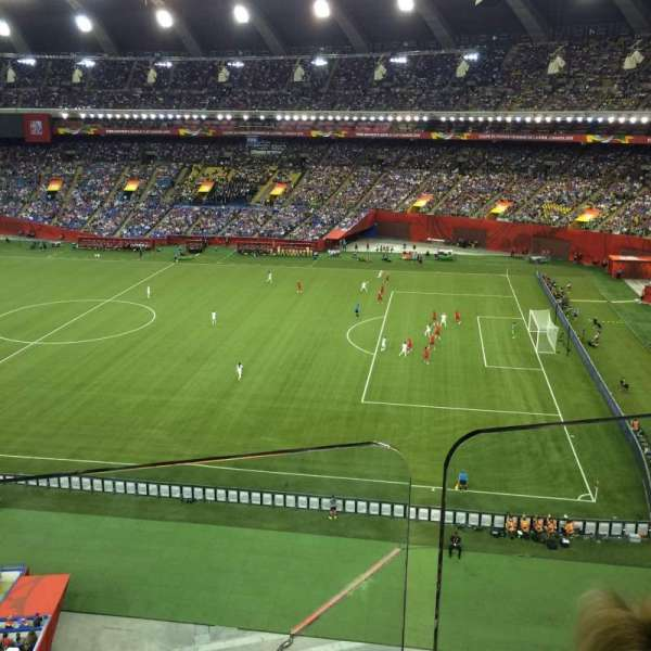 Olympic Stadium, Montreal, section: 430, row: BB, seat: 4
