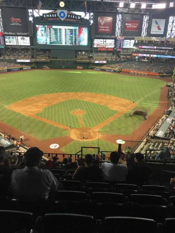 Chase Field, section: 317, row: 14, seat: 4