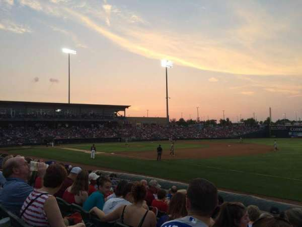T-Bones Stadium, section: 113, row: 9, seat: 18