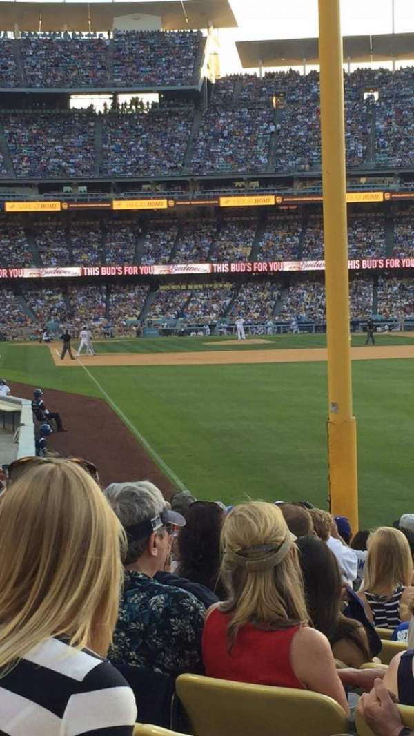 Dodger Stadium, section: 50fd, row: N, seat: 10