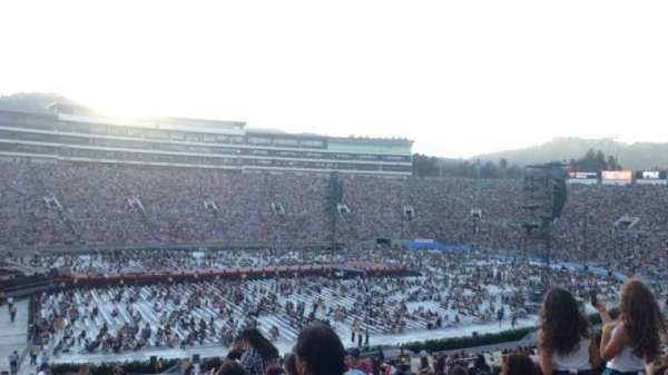 Rose Bowl, section: 3-L, row: 55, seat: 2