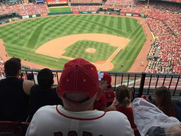 Busch Stadium, section: 452, row: 6, seat: 7