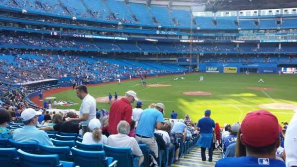 Rogers Centre, section: 117R, row: 34, seat: 1