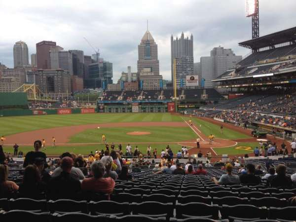 PNC Park, section: 120, row: BB, seat: 12