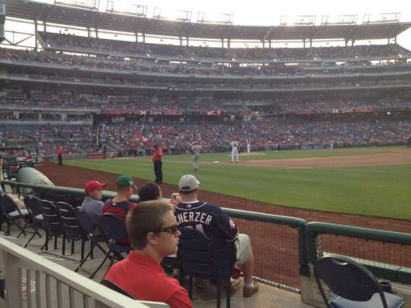 Nationals Park, section: 133, row: D, seat: 15