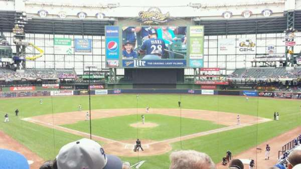Miller Park, section: 218, row: 6, seat: 6
