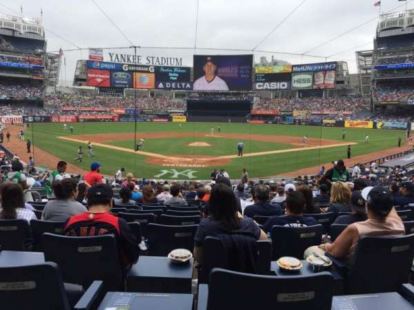 Yankee Stadium, section: 120A, row: 25, seat: 6