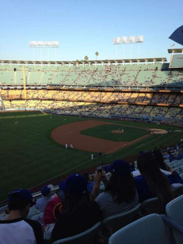 Dodger Stadium, section: 39RS, row: N, seat: 15