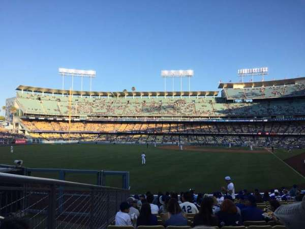 Dodger Stadium, section: 53FD, row: R, seat: 7