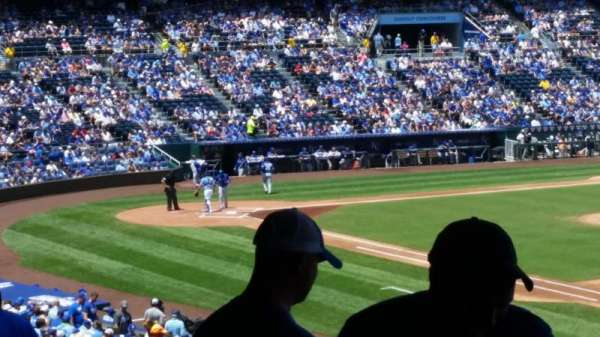 Kauffman Stadium, section: 242, row: rr, seat: 7