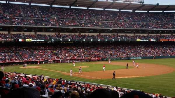 Angel Stadium, section: T227, row: C, seat: 11