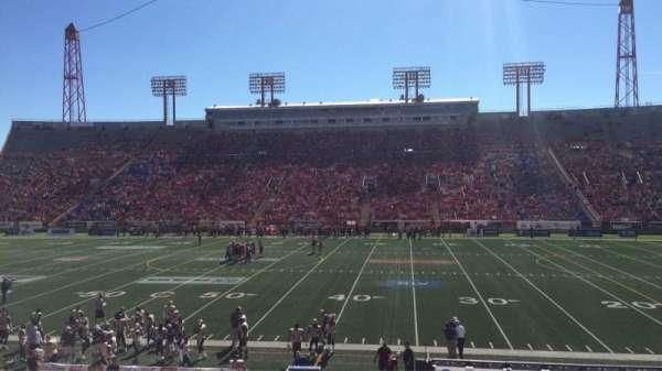 McMahon Stadium, section: R, row: 20, seat: 19