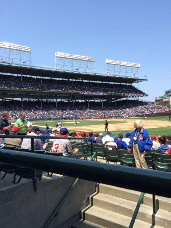Wrigley Field, section: 128, row: 5, seat: 16