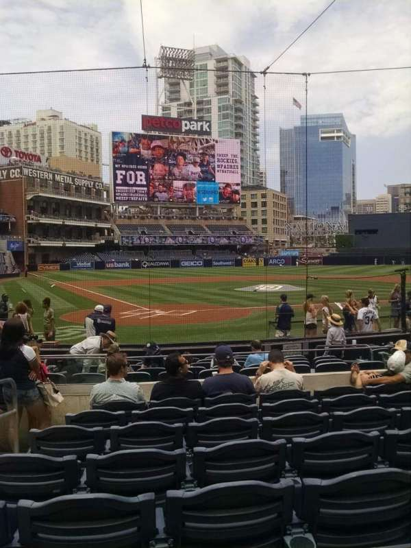 PETCO Park, section: 103, row: 15, seat: 3