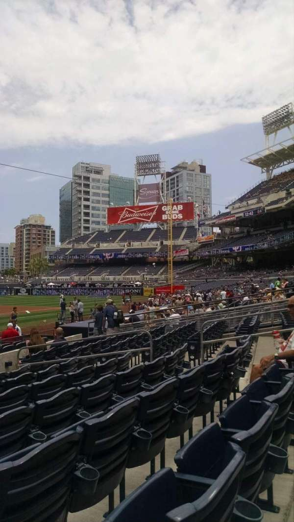 PETCO Park, section: Fv103, row: 15, seat: 3