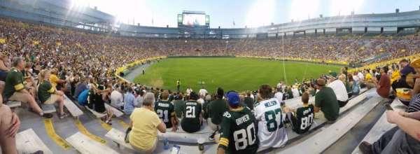 Lambeau Field, section: 136, row: 16, seat: 4