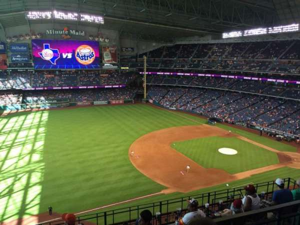 Minute Maid Park, section: 409, row: 2, seat: 11