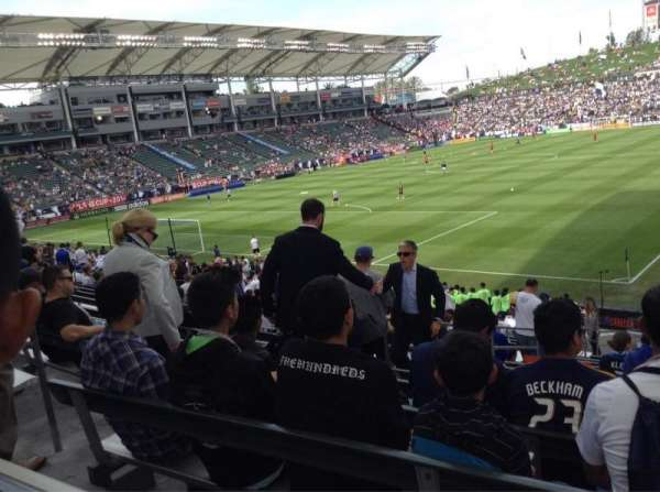 Dignity Health Sports Park, section: 139, row: S, seat: 16