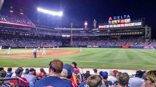 Turner Field, section: 119, row: 9, seat: 2