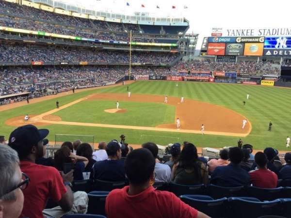 Yankee Stadium, section 215, home of New York Yankees, New ...