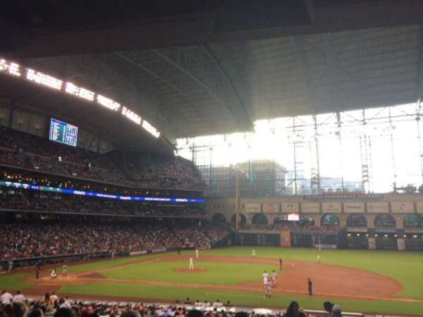 Minute Maid Park, section: 125, row: 35, seat: 10