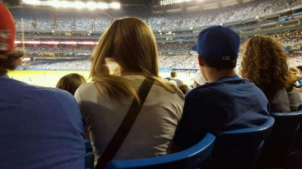Rogers Centre, section: 130al, row: 30, seat: 110