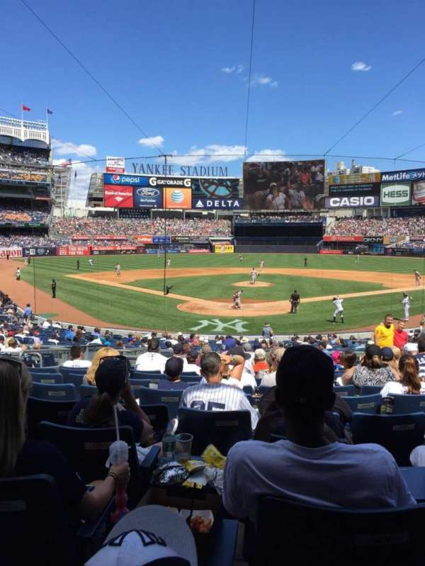 Yankee Stadium, section: 120A, row: 26, seat: 6